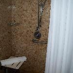 I LOVED THE SHOWER SPACE