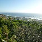 The view of Camp's Bay from the deck at Boutique@10
