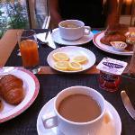 Piccolo dettaglio colazione