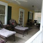 Back Porch area