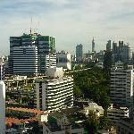 View from 23rd floor - fabulous