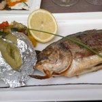 grilled seabream/daurade