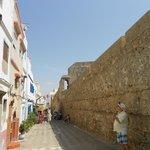 Inside medina walls opposite riad