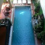 Ground floor pool