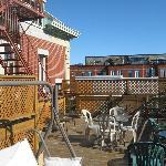 terrasse ensoleillee en septembre