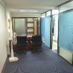 Business center with posh Furniture