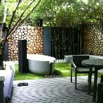 Private Garden in Blissfully Green Villa