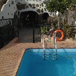 Piscina compartida con Casa-Cueva Las Margaritas