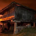 Horreo, granero tradicional asturiano.