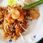 Phad Thai Goong Sod