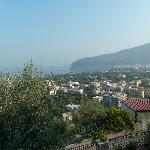 Vista di Sorrento dal balcone