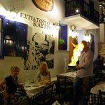 Kastro Saganaki at Kastro restaurant.