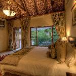 Beautiful thatch room