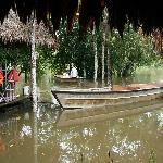 Las canoas para los paseos