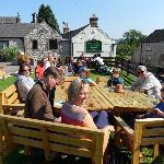 A sunnny day in the pub garden