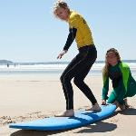 Private 1-1 surfing lessons