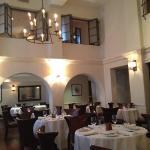 'abbeyish' dining room