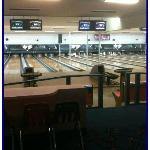 Medium AMF SPL synthetic lanes installed 8/12, 24 lanes with bumpers