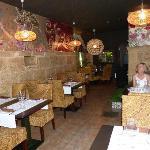 The restaurant adjacent to the bar