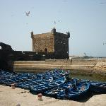 De Portugese haven in Essaouira