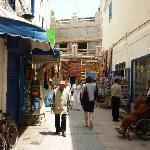 Straatje in de medina van Essaouri