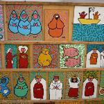 In de medina van Essaouiria: koddige schilderijtjes