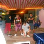 break dancers at turkish night
