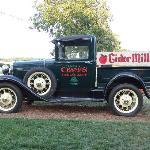 Crane's truck