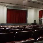 A beautiful, historic proscenium theatre, built in 1900.