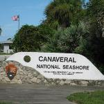 Entrance Canaveral National Seashore