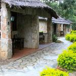 Sambiya River Lodge - Room Entrance