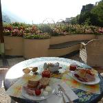 colazione su panorama