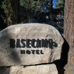 BaseCamp Hotel Sign