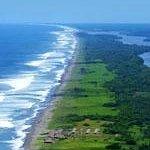 Vista aerea de centro ecoturistico