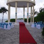 The wedding spot