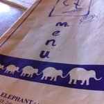 elephant menu