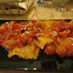 ravioli with pine nuts