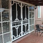 Studio Entrance & Deck.