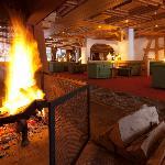 Sunstar Hotel Grindelwald - Lobby mit Cheminée