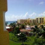 View of Resort from the villas ( rooms)
