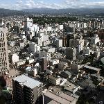 金沢市街-部屋からの眺め