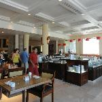La Estancia restaurant (this picture breakfast buffet)