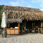 Activity area on beach at An Lam