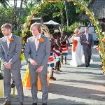 our wedding at voyager beach