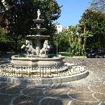 фонтан на территории