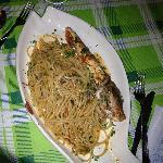 Spaghetti con gallinella di mare