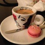 Lecker Maccaron zum Café