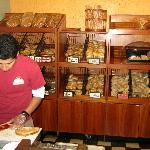 Great bakery selection