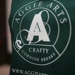 The famous Aggie Arts apron! Craft workshops, courses and art holidays in St Agnes, Cornwall
