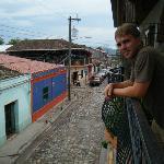Balcony at Yat Balam